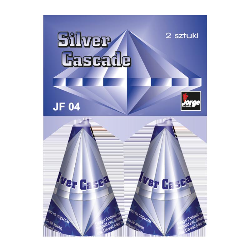 JF04 Silver Cascade